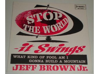 Jeff Brown Jr. SINGELOMSLAG What kind of fool am i 1963 VG++