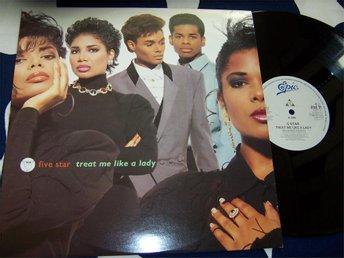 "FIVE STAR - TREAT ME LIKE A LADY 12"" 1990 EXTEN."