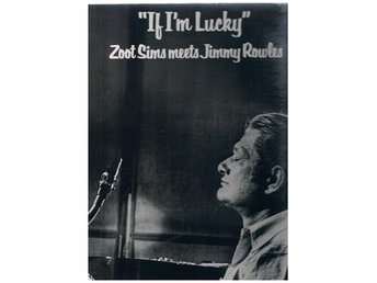 Zoot Sims If Im Lucky w Jimmy Rowles PABLO LP 2310-803