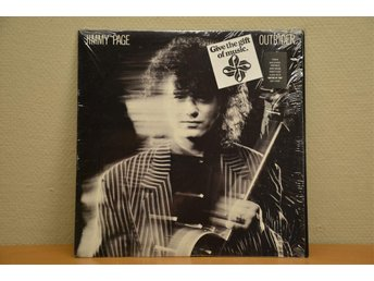 LED ZEPPELIN JIMMY PAGE OUTRIDER USA PRESS