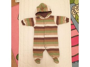 Stripe Fleece Overall from Carter's (3months)