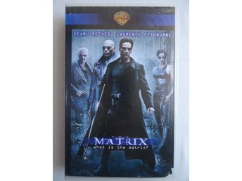 VHS film - Matrix - Keanu Reeves / Laurence Fishburne