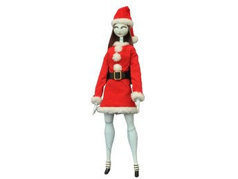 Nightmare before Christmas Coffin Doll Santa Sally Unlimited Edition 36 cm