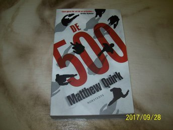 Matthew Quirk - De 500  (Pocket)