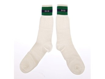 Dolce & Gabbana - White Logo Cotton Stretch Socks