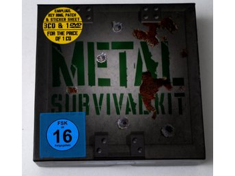 Metal Survival Kit 3-CD & 1-DVD i box