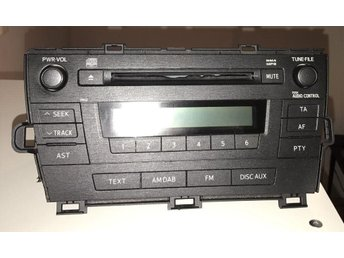Radio Av Toyota Prius  2010 2011 2012 AM FM CD MP3 Player 51883 - 86120 - 47290
