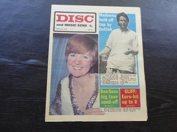 DISC Mars 30  -68 CILLA BLACK PAUL MCCARTNEY BEE GEES MOVE ZOMBIES