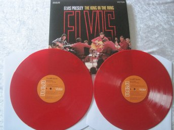 elvis presley the king in the ring RSD2018 red vinyl