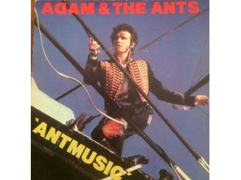 ADAM AND THE ANTS ANTMUSIC/FALL IN  NEW WAVESAMLING!