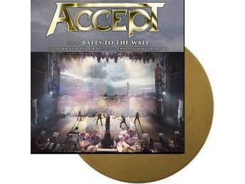 "Accept -Balls to the wall w/symphonic orche 10"" Gold ltd 300"