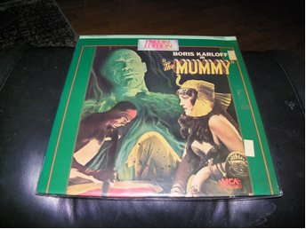 The Mummy - Boris Karlof - Encore Edition - 1st Laserdisc