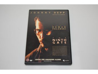 DVD / The Ninth Gate / Johnny Depp / Film / Thriller / Roman Polanski
