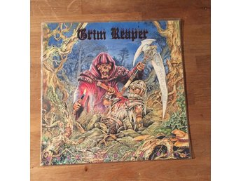 GRIM REAPER - ROCK YOU TO HELL. (LP)