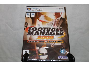 Football manager 2009 pc-spel