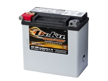 Deka Sports Power AGM Batteri 12 V 12 Ah ETX14