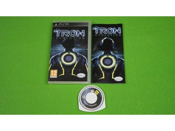 Tron Evolution Komplett SVENSK UTGÅVA PSP Playstation Portable