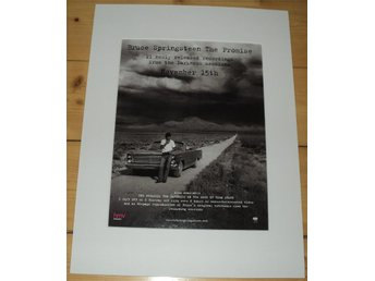 Bruce Springsteen / The Promise / Passepartout 30x40 cm