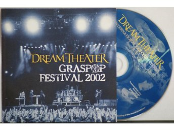 Dream Theater – Graspop festival 2002 – CD (RARE!)