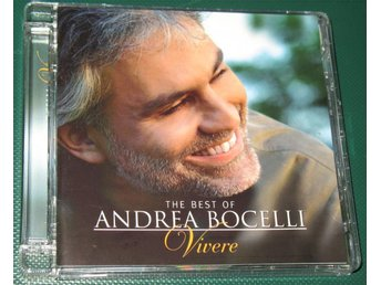 ANDRA BOCELLI -- THE BEST OF -- VIVERE -- 2007 -- CD