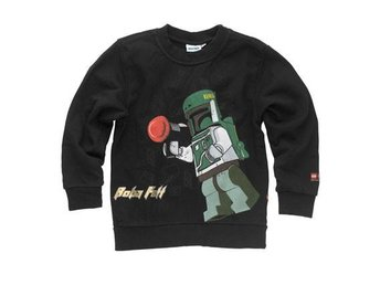 LEGO STAR WARS, SWEATSHIRT, SVART (134)
