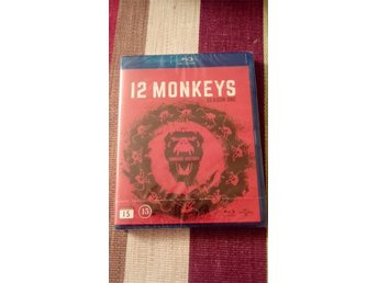 12 Monkeys Säsong 1(INPLASTAD, Bluray)