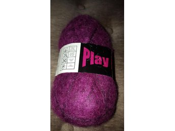 PLAY IT 50 GRAM lila MOHAIR GARN
