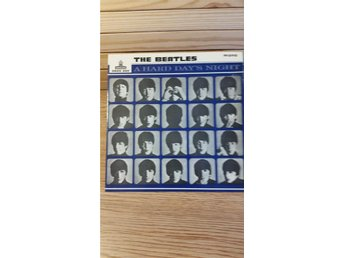 THE BEATLES EP  GEOS 222 1964 A HARD DAY'S NIGHT