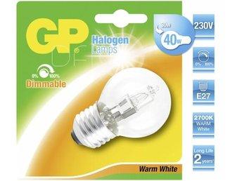 GP Lighting Halogen Mini Globe E27 30W (40W) warm-white 350 lm - Höganäs - GP Lighting Halogen Mini Globe E27 30W (40W) warm-white 350 lm - Höganäs