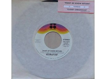 Kansas title* Point Of Know Return* Rock US 7""