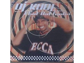 DJ Kool title* I Got Dat Feelin' (Remix)* 90 Hip-Hop 1 2Inch