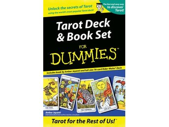 Tarot Deck And Book Set For Dummies (Book And Rider-Wait 9781572813540