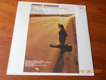 JOHNNY RODRIGUEZ All I ever meant to do was sing, LP Mercury USA '73 Förseglad!