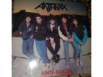 Anthrax Anti-social 12a