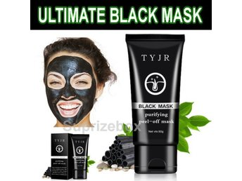 Charcoal Activated Black Face Mask Blackhead Remover Peel