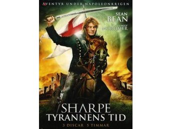 Sharpe - Tyrannens tid (3-disc)