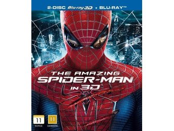 THE AMAZING SPIDER-MAN. NY OCH INPLASTAD PÅ BLU-RAY 3D + BLU-RAY