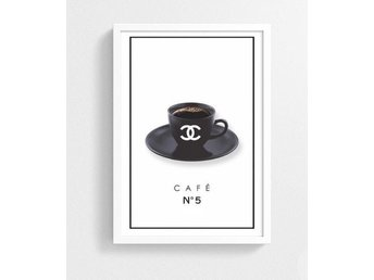 Chanel Coffee Poster A4 Ny!