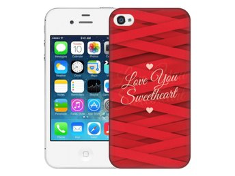 iPhone 4/4s Skal Love You Sweetheart