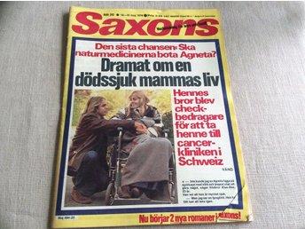 Javascript är inaktiverat. - Filipstad - Saxons nr 20 1976 Skick kolla bildernOBS Byers Outside Sweden get a different Shipping Cost...När du bjuder/köper så accepterar du objektsbeskrivningenVi samfraktarMVH Tidningskungens - Filipstad