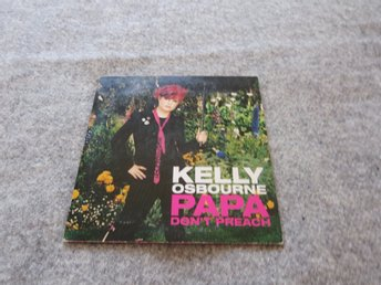 KELLY OSBOURNE PAPA DON´T PREACH 2 track. MADONNA COVER