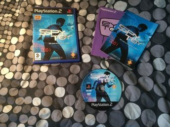 SPY TOY  PS2 PLAYSTATION 2 BRA SKICK