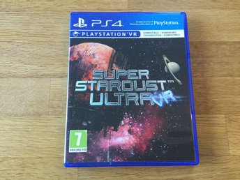 PS4: Super Stardust Ultra (NYSKICK - spel till PlayStation 4 - SHMUP)