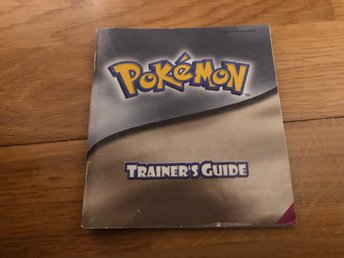 Pokemon Gold / Silver - GB Color manual