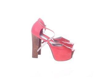 NLY Shoes, Sandaletter, Strl: 38, Rosa, Skinnimitation