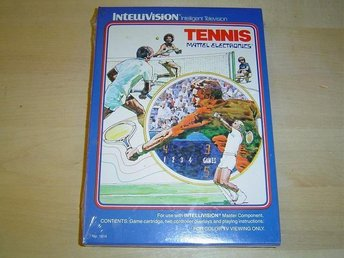 TENNIS MATTEL INTELLIVISION *NYTT*