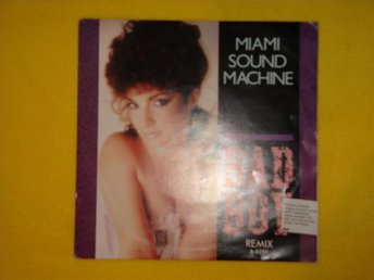 MIAMI SOUND MACHINE - BAD BOY, SURRENDER PARADISE 1985 7""