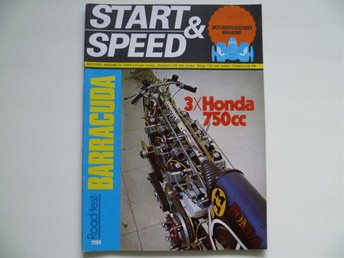 START & SPEED #2 1975 (Plymouth Barracuda, 3x750 Honda) - Bromölla - START & SPEED #2 1975 (Plymouth Barracuda, 3x750 Honda) - Bromölla