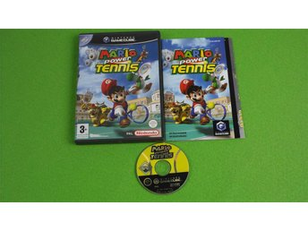 Mario Power Tennis SVENSK UTGÅVA GameCube Game Cube