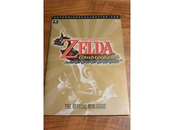 The legend of ZELDA the windwaker THE OFFICIAL MINI GUIDE